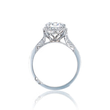 Load image into Gallery viewer, Tacori Dantela Round Diamond Engagement Ring (0.63 CTW)
