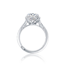 Load image into Gallery viewer, Tacori Dantela Round Diamond Engagement Ring (0.62 CTW)