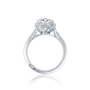 Tacori Dantela Round Diamond Engagement Ring (0.62 CTW)