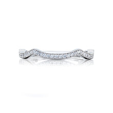 Load image into Gallery viewer, Tacori Ribbon Diamond Wedding Band (0.15 CTW)