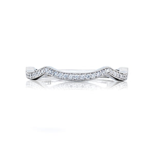 Tacori Ribbon Diamond Wedding Band (0.15 CTW)