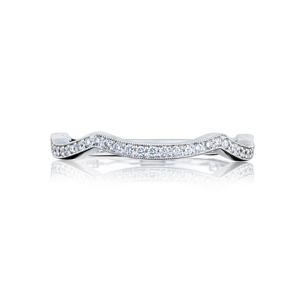 Tacori Ribbon Diamond Wedding Band (0.14 CTW)