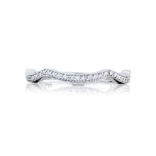 Load image into Gallery viewer, Tacori Ribbon Diamond Wedding Band (0.13 CTW)