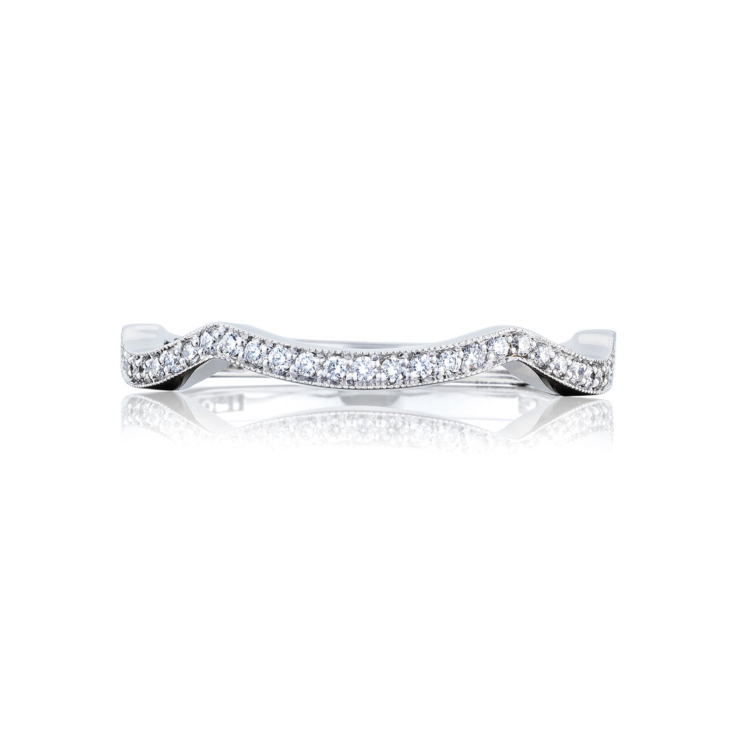 Tacori Ribbon Diamond Wedding Band (0.13 CTW)