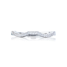 Load image into Gallery viewer, Tacori Ribbon Diamond Wedding Band (0.1 CTW)