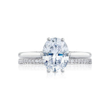 Load image into Gallery viewer, Tacori Simply Tacori Oval Diamond Engagement Ring (0.07 CTW)