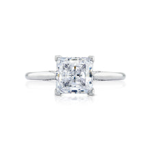 Load image into Gallery viewer, Tacori Simply Tacori Princess Diamond Engagement Ring (0.07 CTW)