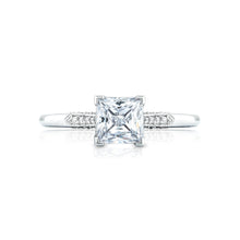 Load image into Gallery viewer, Tacori Simply Tacori Princess Diamond Engagement Ring (0.11 CTW)