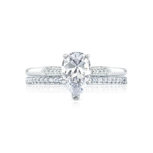 Load image into Gallery viewer, Tacori Simply Tacori Pear Diamond Engagement Ring (0.11 CTW)