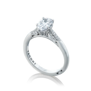 Tacori Simply Tacori Pear Diamond Engagement Ring (0.11 CTW)