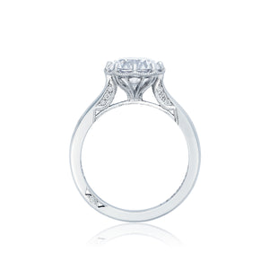 Tacori Simply Tacori Round Diamond Engagement Ring (0.07 CTW)
