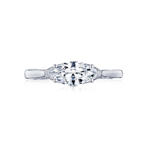 Tacori Simply Tacori Marquise Diamond Engagement Ring (0.09 CTW)