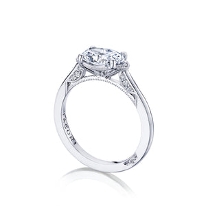Tacori Simply Tacori Oval Diamond Engagement Ring (0.13 CTW)
