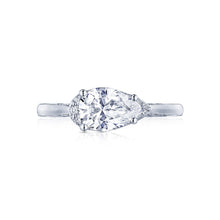 Load image into Gallery viewer, Tacori Simply Tacori Pear Diamond Engagement Ring (0.13 CTW)