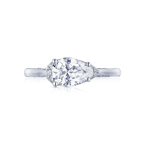 Tacori Simply Tacori Pear Diamond Engagement Ring (0.13 CTW)