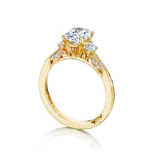 Load image into Gallery viewer, Tacori Simply Tacori Oval Diamond Engagement Ring (0.34 CTW)