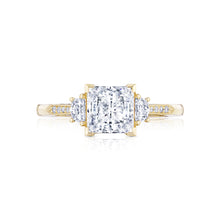 Load image into Gallery viewer, Tacori Simply Tacori Princess Diamond Engagement Ring (0.34 CTW)