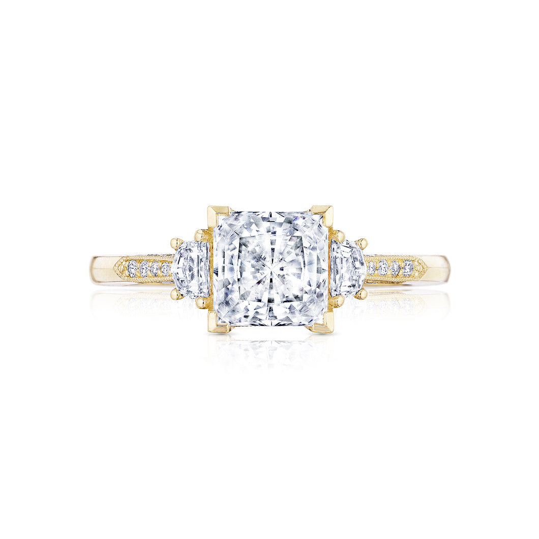 Tacori Simply Tacori Princess Diamond Engagement Ring (0.34 CTW)