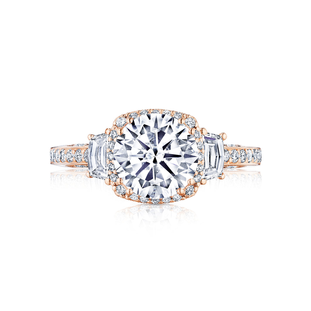 Tacori Dantela Round Diamond Engagement Ring (0.71 CTW)
