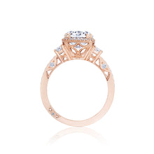 Load image into Gallery viewer, Tacori Dantela Round Diamond Engagement Ring (0.71 CTW)