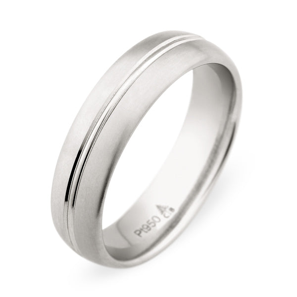 Christian Bauer White Gold Wedding Band 272889