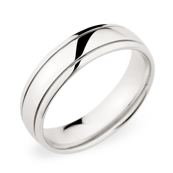 Christian Bauer Palladium Wedding Band 273398