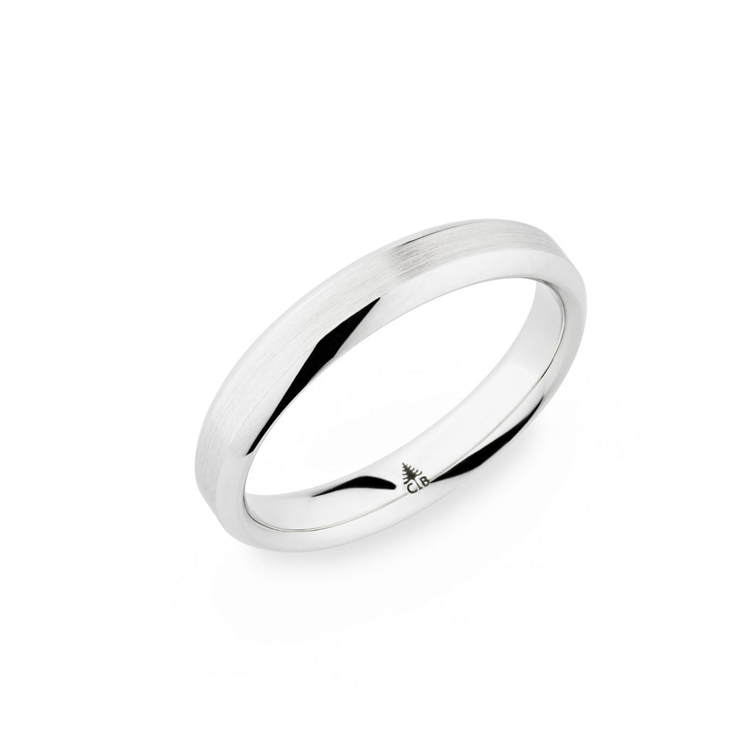 Christian Bauer White Gold Wedding Band 273891