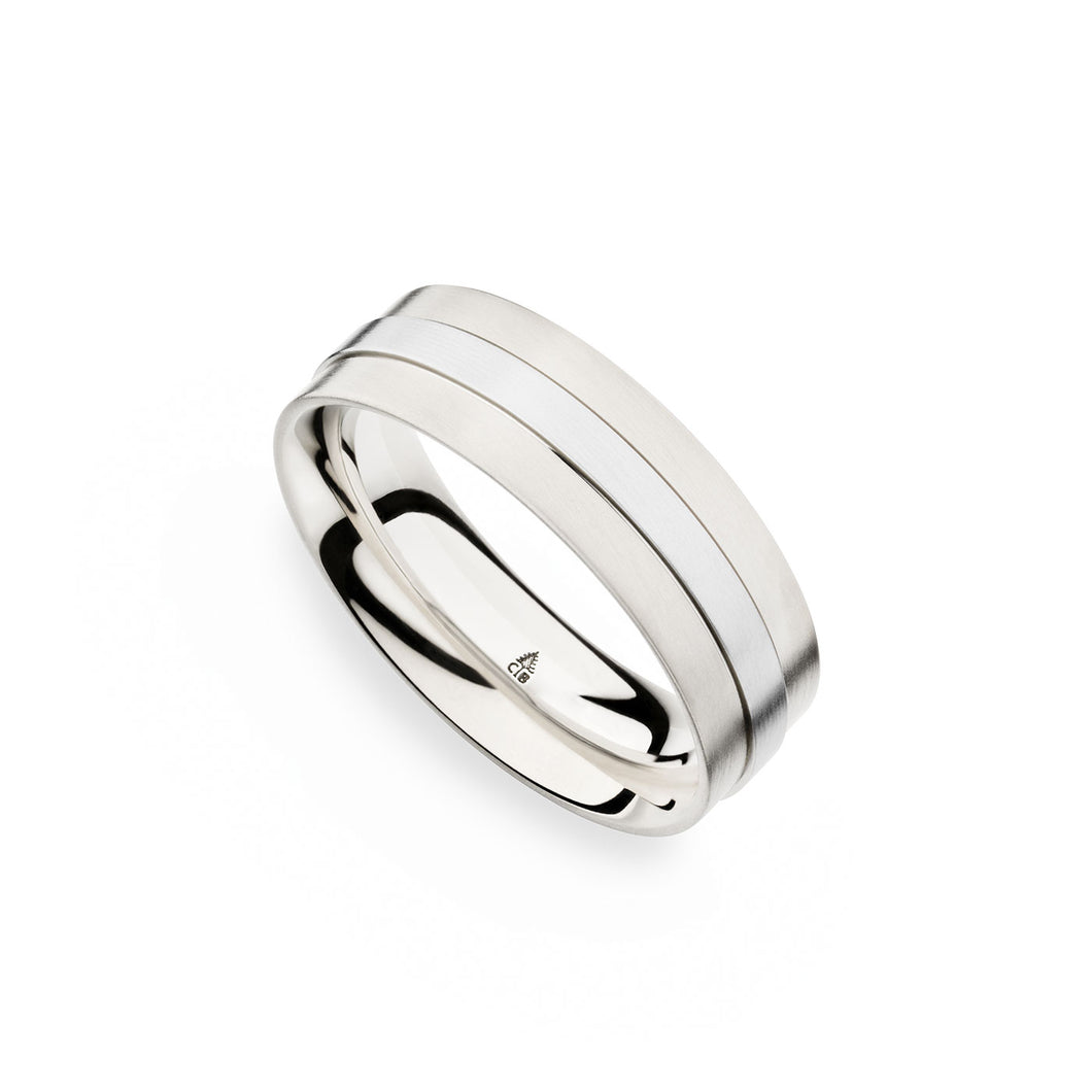 Christian Bauer Palladium Wedding Band 273967