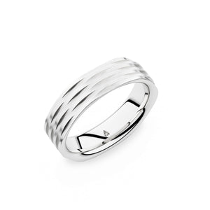 Christian Bauer White Gold Wedding Band 274427
