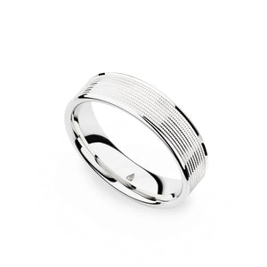 Christian Bauer White Gold Wedding Band 274431