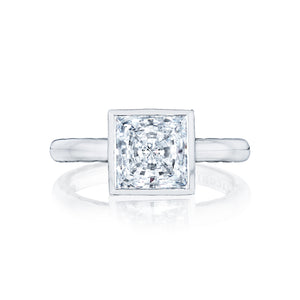 Tacori Starlit Princess Diamond Engagement Ring (0.01 CTW)