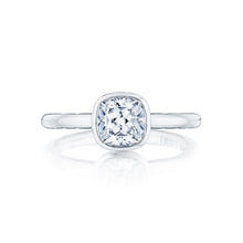 Load image into Gallery viewer, Tacori Starlit Cushion Diamond Engagement Ring (0.01 CTW)