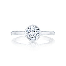 Load image into Gallery viewer, Tacori Starlit Round Diamond Engagement Ring (0.01 CTW)