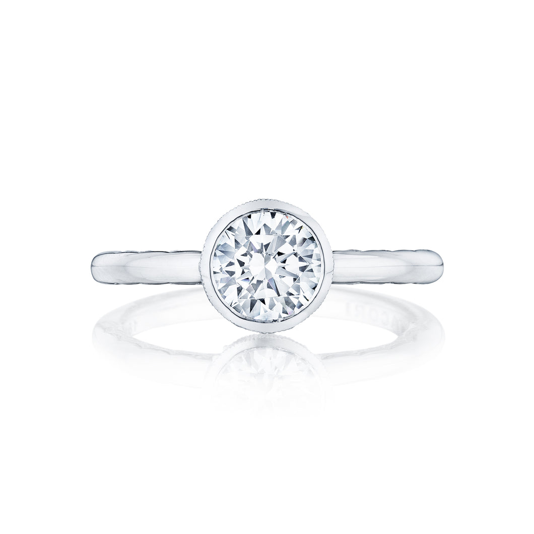 Tacori Starlit Round Diamond Engagement Ring (0.01 CTW)