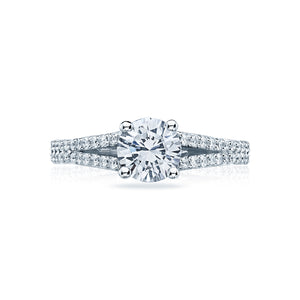 Tacori Simply Tacori Round Diamond Engagement Ring (0.34 CTW)
