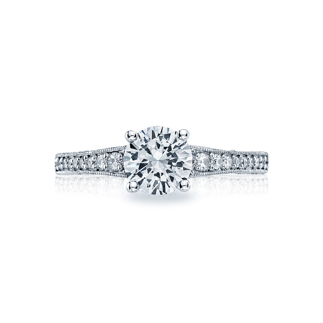 Tacori Simply Tacori Round Diamond Engagement Ring (0.36 CTW)
