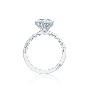 Tacori Starlit Round Diamond Engagement Ring (0.35 CTW)