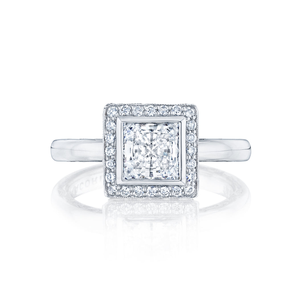 Tacori Starlit Princess Diamond Engagement Ring (0.19 CTW)