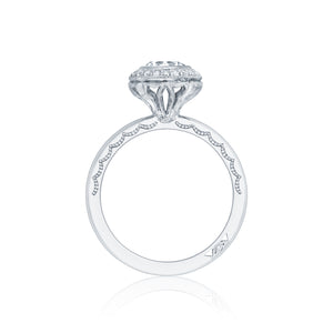 Tacori Starlit Round Diamond Engagement Ring (0.16 CTW)