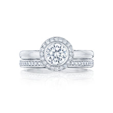 Load image into Gallery viewer, Tacori Starlit Round Diamond Engagement Ring (0.16 CTW)