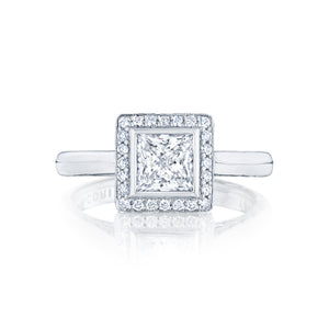 Tacori Starlit Princess Diamond Engagement Ring (0.2 CTW)