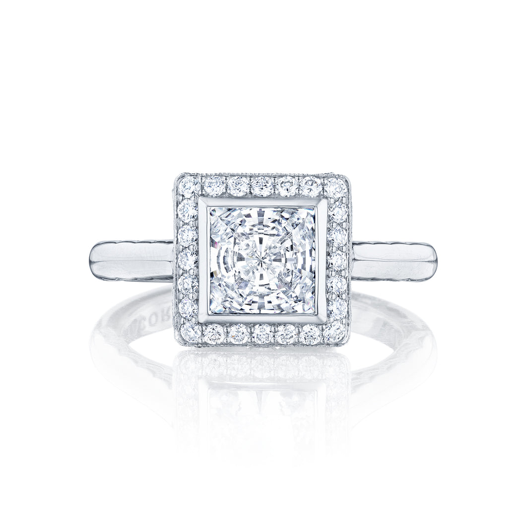 Tacori Starlit Princess Diamond Engagement Ring (0.29 CTW)