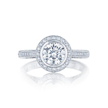 Load image into Gallery viewer, Tacori Starlit Round Diamond Engagement Ring (0.3 CTW)