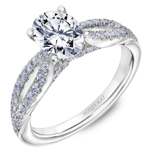 Scott Kay Namaste Engagement Ring (0.44 CTW)