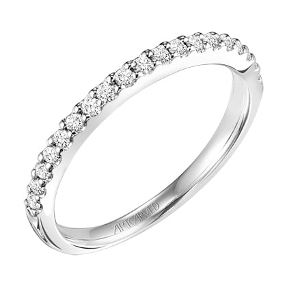 ArtCarved Allison Round Diamond Wedding Band