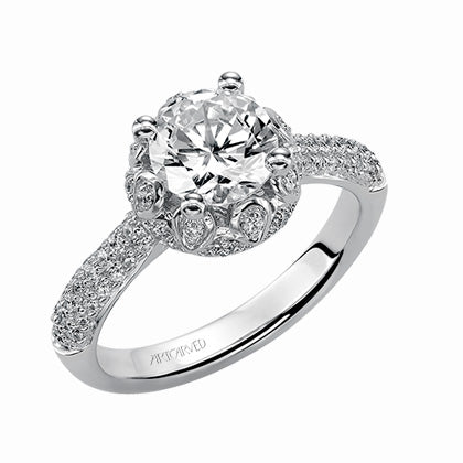 ArtCarved Adalyn Classic Engagement Ring