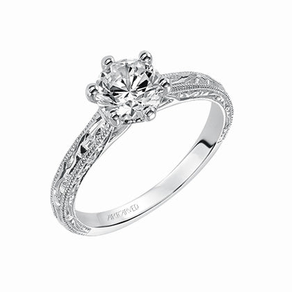 ArtCarved Gretchen Solitaire Engagement Ring