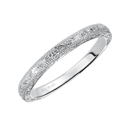 ArtCarved Bernadette Wedding Band