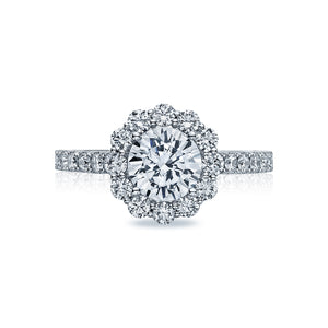 Tacori Full Bloom Round Diamond Engagement Ring (0.99 CTW)