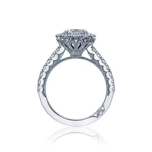 Load image into Gallery viewer, Tacori Full Bloom Round Diamond Engagement Ring (0.99 CTW)